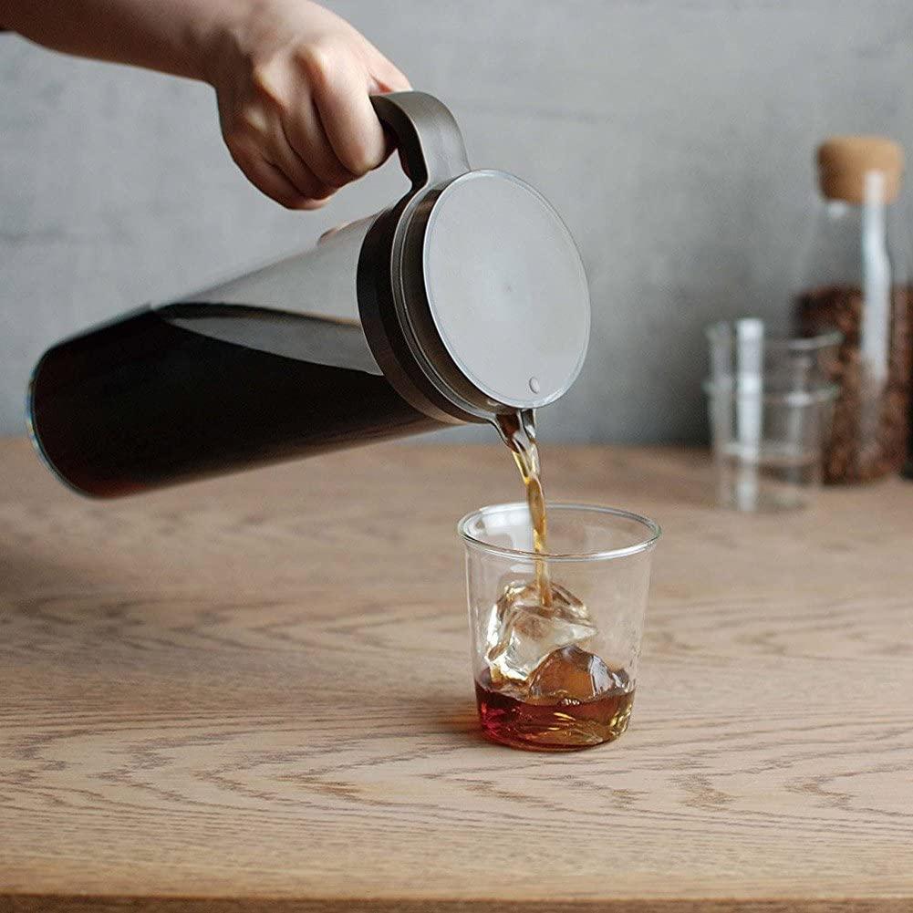 KINTO(キントー) PLUG アイスコーヒージャグ 1.2L 22484 ブラウンの商品画像2