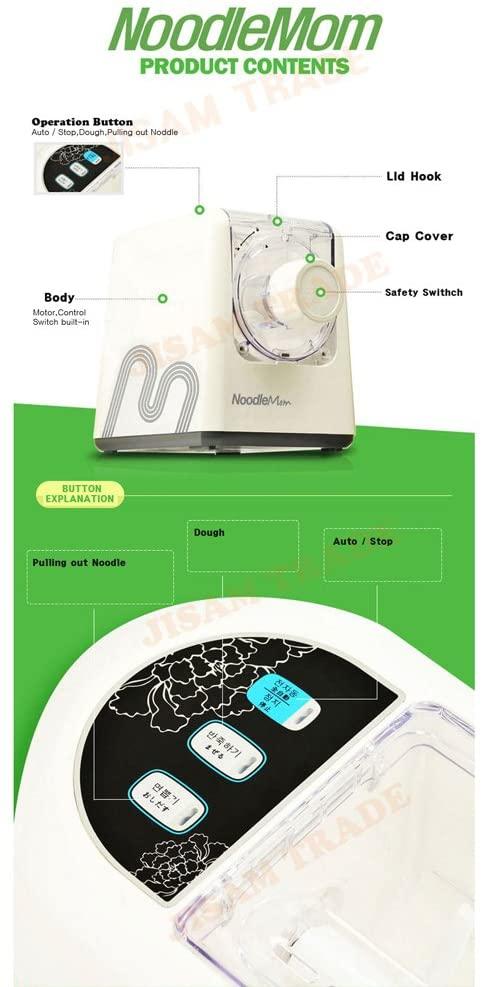 NOODLE MOM(ヌードルマム) パスタメーカー JYS-N6の商品画像6