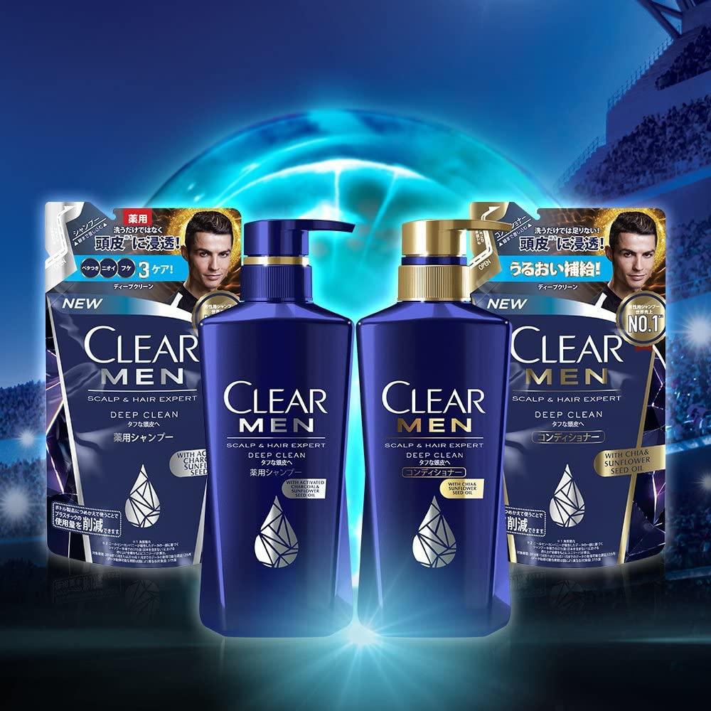 CLEAR for men(クリア フォー メン) ディープクリーン 薬用シャンプーの商品画像11