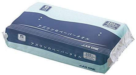 as-1(アズワン) 7-6200-01 アズワンのペーパータオル 1袋(200枚入)の商品画像