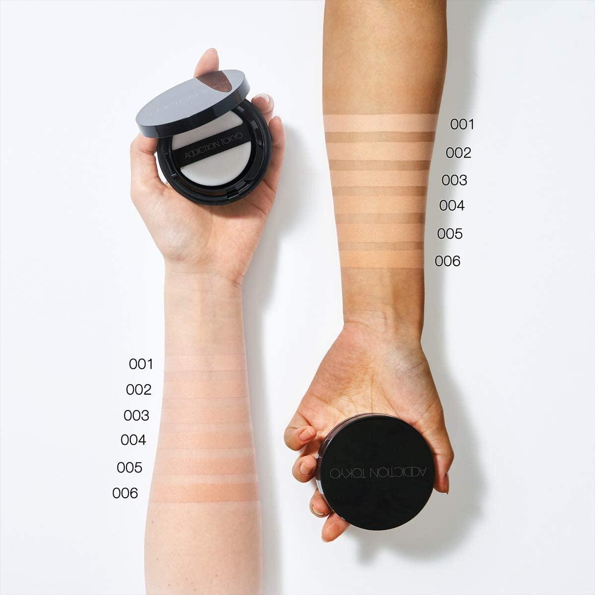ADDICTION(アディクション) スキンリフレクト ラスティング UV クッションファンデーションの商品画像4