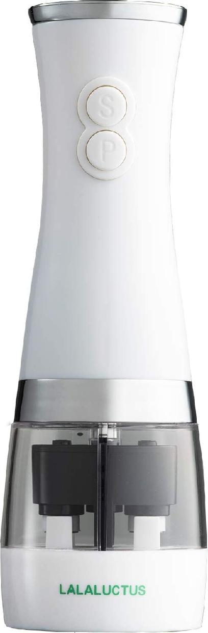 LALALUCTUS(ラララクタス) ソルト&ペッパーミル ホワイト SE6400WHの商品画像