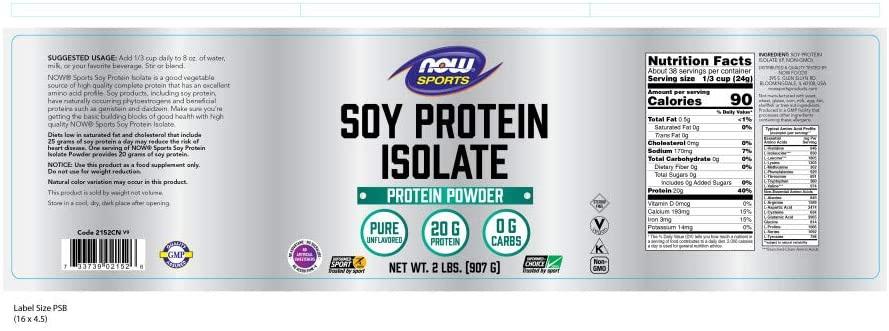 NOW Foods(ナウフーズ) ソイプロテイン アイソレートの商品画像2