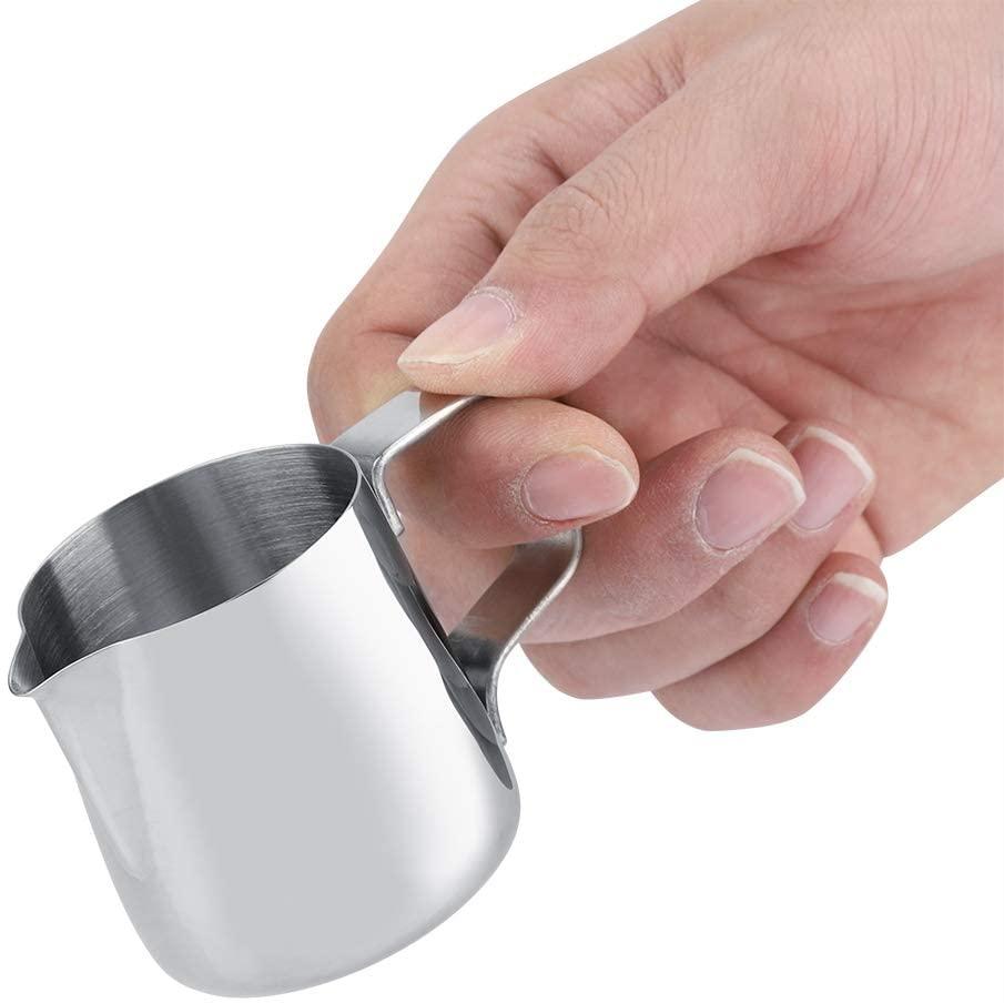 Filfeel(フィルフィール)ステンレスミルク泡立てカップ 100ml シルバーの商品画像3