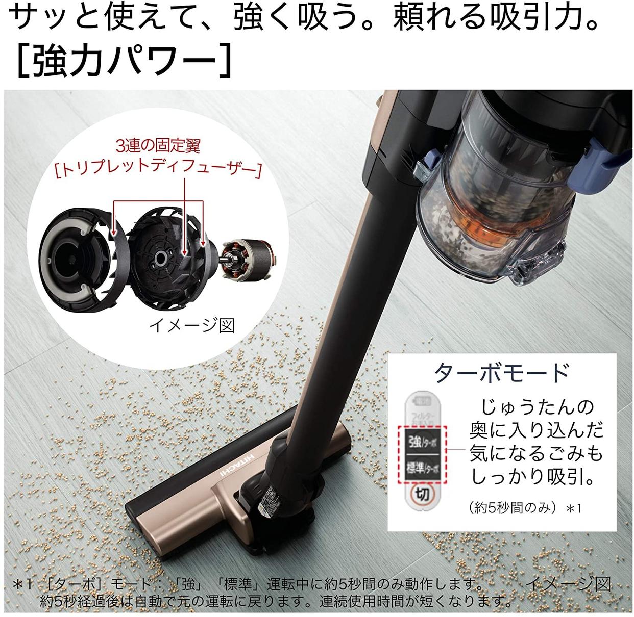 日立(HITACHI) ラクかるスティック PV-BL20Gの商品画像4