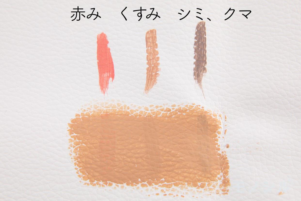 KAKUSHIMUST(カクシマスト)ウルトラカバーコンシーラーのカバー力の検証画像