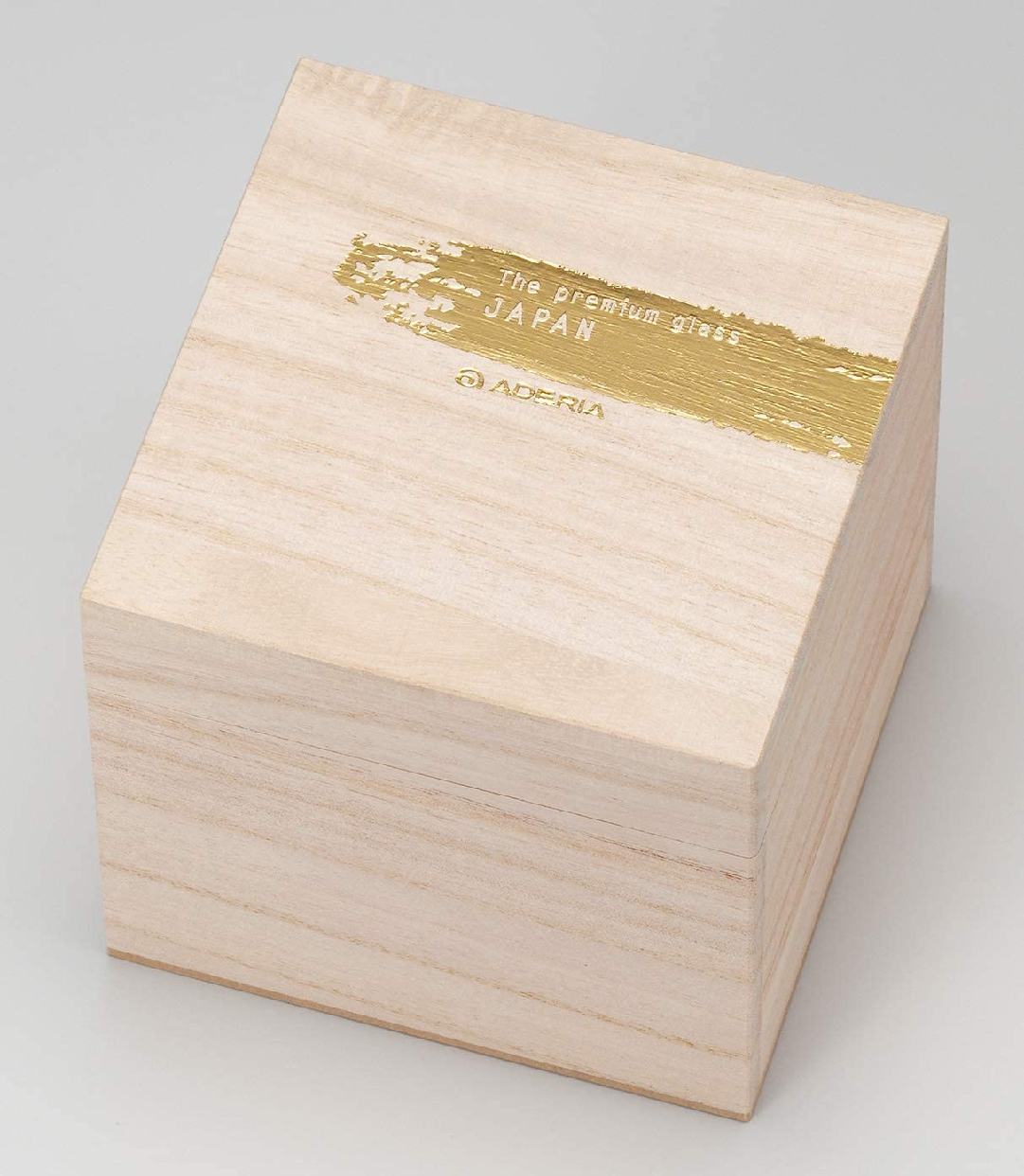 THE PREMIUM NIPPON TASTE(プレミアムニッポンテイスト) 金一文字 ロックグラス 約335ml 6699の商品画像5