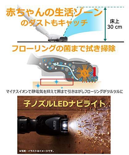 Panasonic(パナソニック) サイクロン掃除機  MC-SR37の商品画像4
