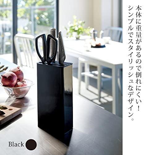 山崎実業(Yamazaki) キッチンナイフ&ハサミスタンド タワー ホワイト 3512の商品画像3