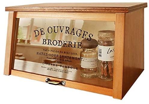 BREA(ブレア) ガラス扉 ケース ブラウン BREA-1476-Lの商品画像