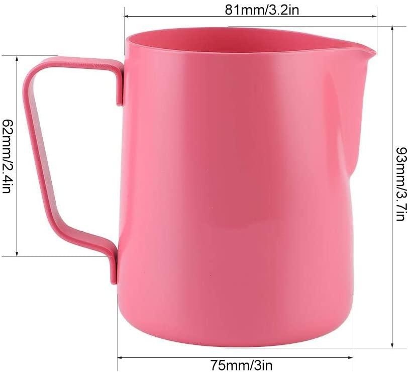 Fishlor(フィッシュロー)350mlミルク泡立てピッチャー ピンクの商品画像4