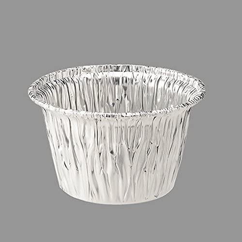 TOMIZ(トミッズ)アルミカップ110cc フタ付 / 10組の商品画像