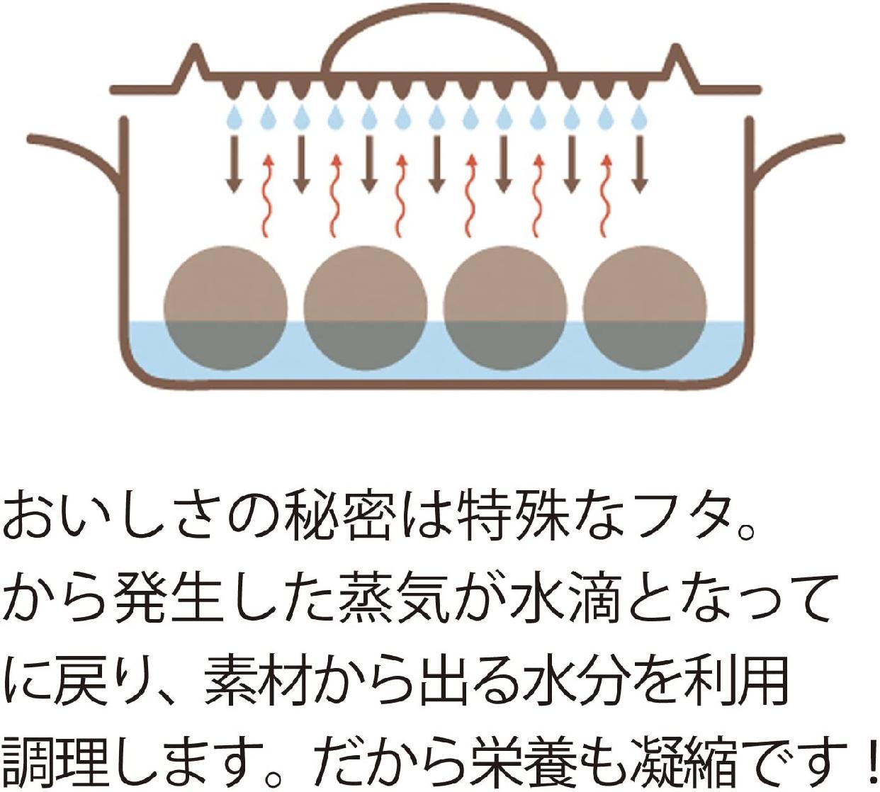 APEX HEART(アペックスハート) Mizuirazu鍋 MZ-1217の商品画像5