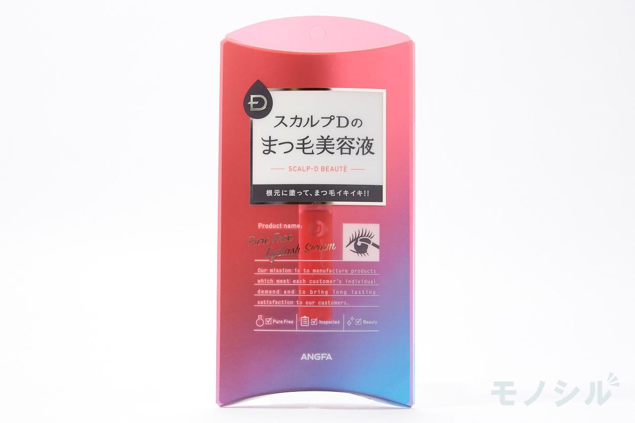 スカルプD ボーテピュアフリー アイラッシュセラムの商品パッケージの画像