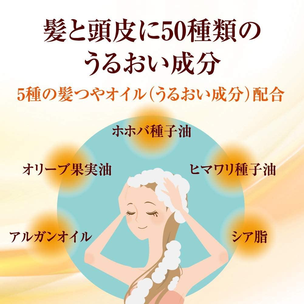50の恵 エイジングケア 髪と頭皮の養潤シャンプーの商品画像6