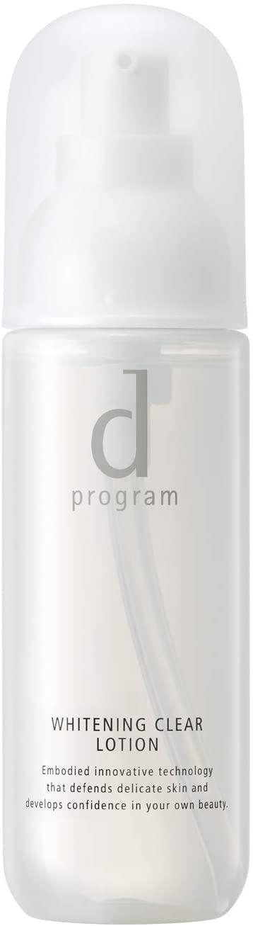 d program(d プログラム) ホワイトニングクリア ローション MB