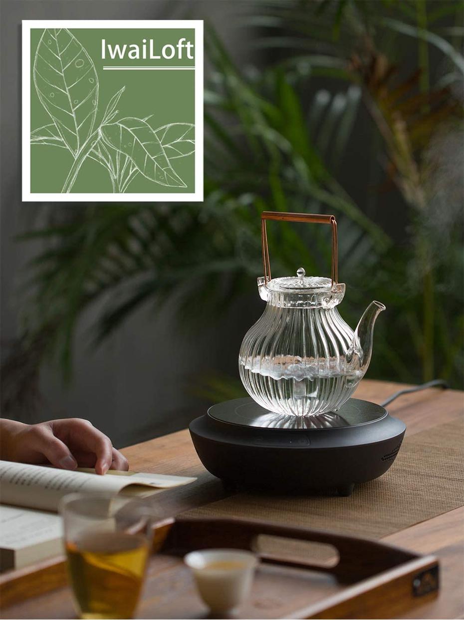 IwaiLoft(イワイロフト) 耐熱ガラス ティーポット IL-G1968の商品画像4