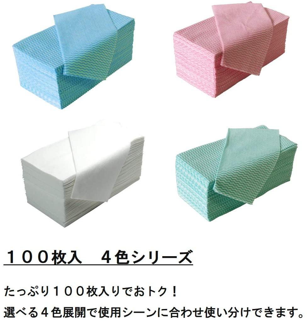 STRIX DESIGN(ストリックスデザイン)ふきん 100枚 ブルー J-116の商品画像4