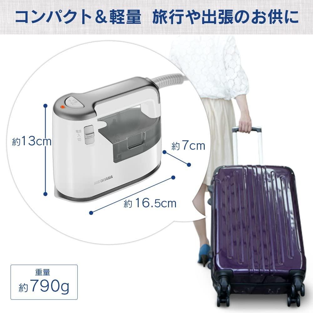 IRIS OHYAMA(アイリスオーヤマ) 衣類用スチーマー IRS-01の商品画像6
