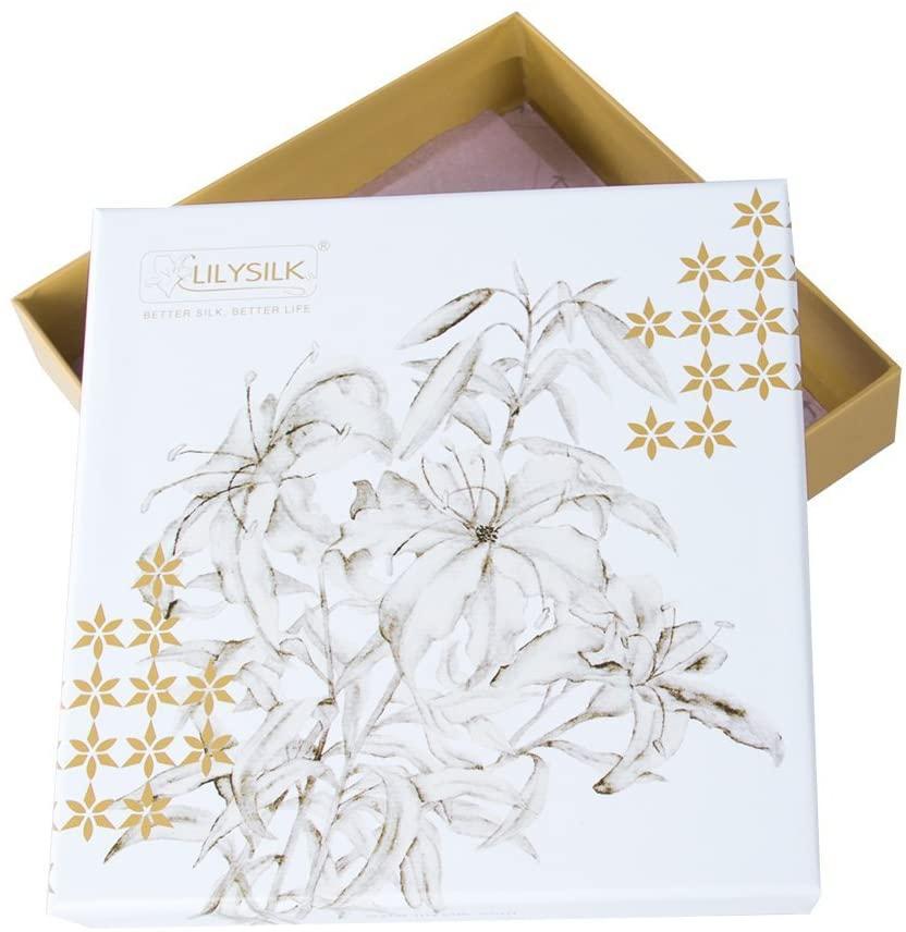 Lilysilk(リリーシルク) 19匁天然シルク100%ナイトキャップ リボン付きタイプの商品画像8