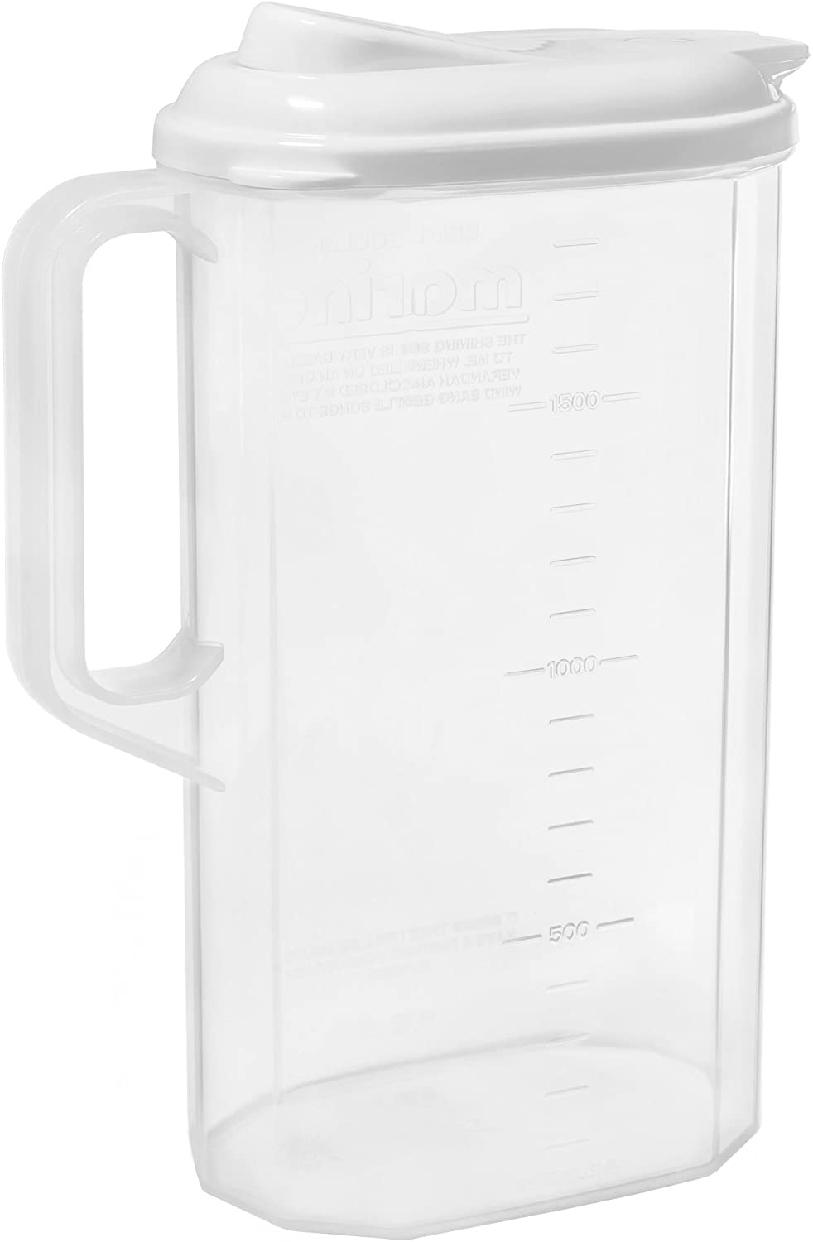 サンコープラスチック マリンクーラー ワンプッシュ 2L ホワイトの商品画像2