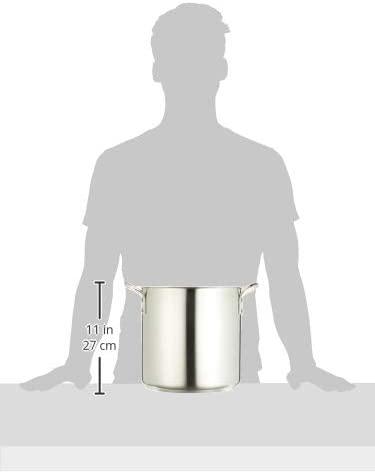 Murano(ムラノ) インダクション  テフロンセレクト 寸胴鍋 (蓋無)24cm 18-8 AZV-78の商品画像6