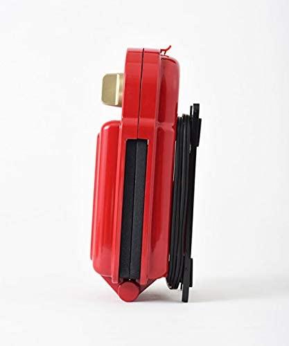 BRUNO(ブルーノ) ホットサンドメーカーシングル レッド ワッフルプレートセット BOE043-RD レッドの商品画像4