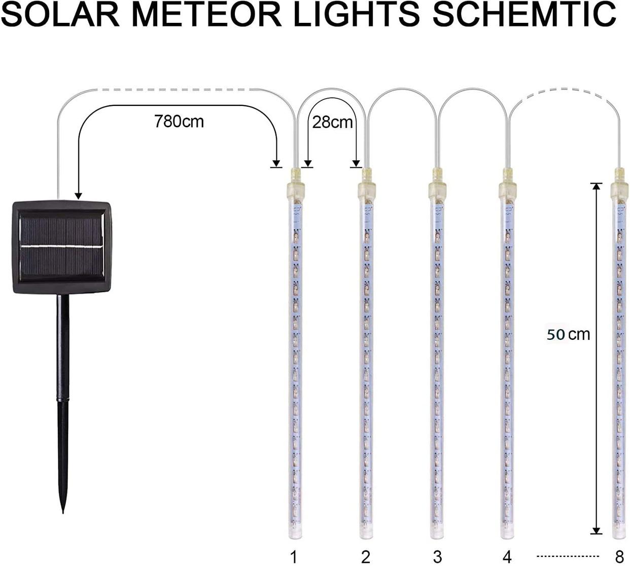 MYJP(エムワイジェーピー) ソーラーLEDイルミネーションライトの商品画像2