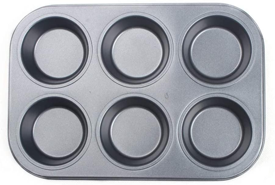 GOIOD(ジーオーアイオーディー)マフィン型 プレート 6個取り ブラックの商品画像6
