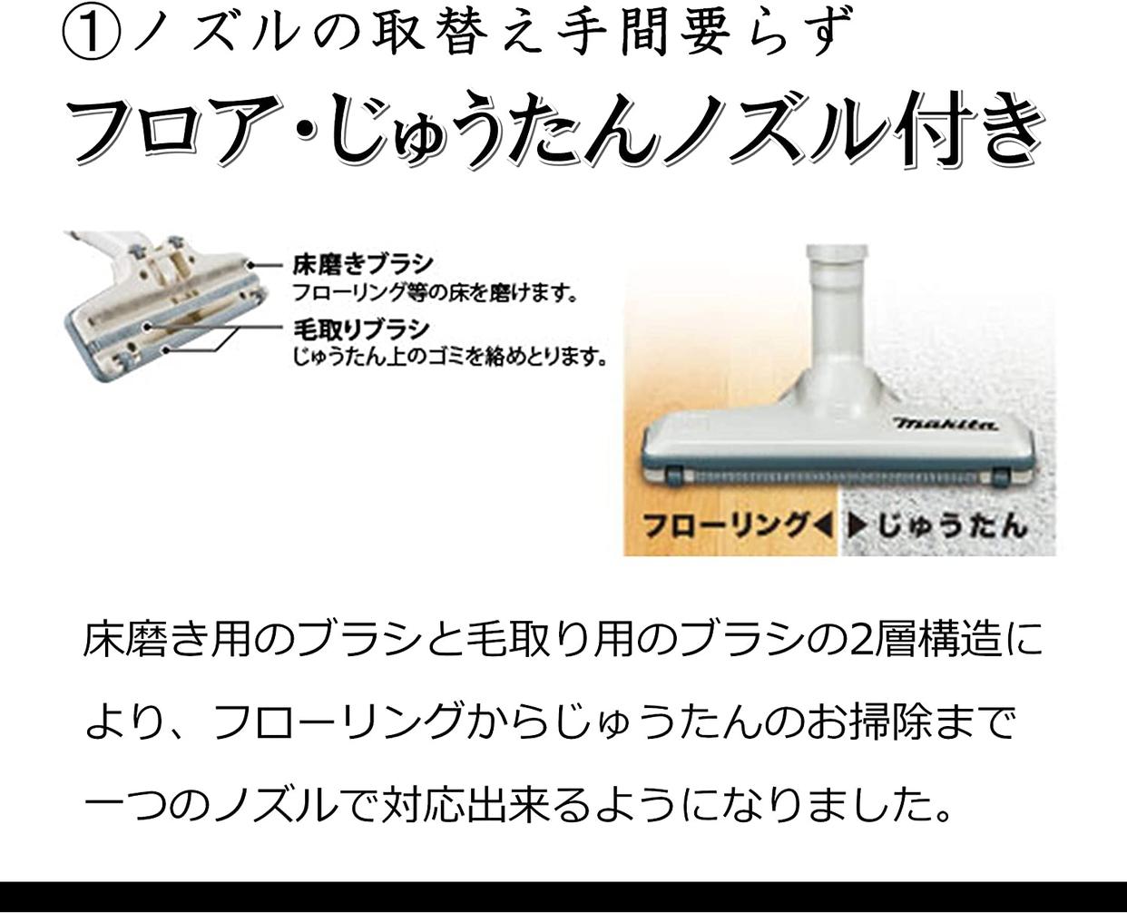 makita(マキタ) 充電式クリーナ CL110DWの商品画像4
