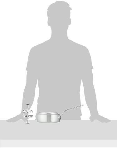 PRO CHEF(プロシェフ) アルミ 浅型片手鍋(目盛付)18cmの商品画像6