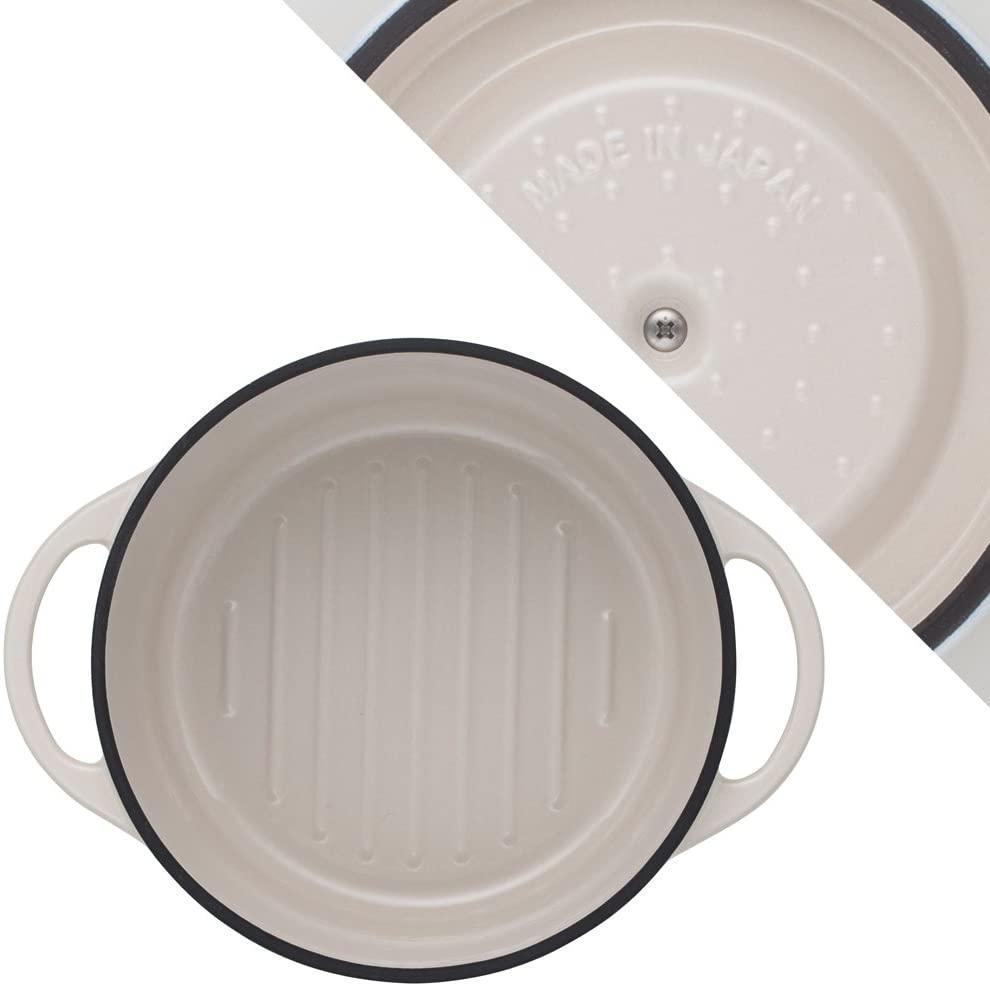 VERMICULAR(バーミキュラ) オーブンポットラウンド18cm ナチュラルベージュの商品画像3