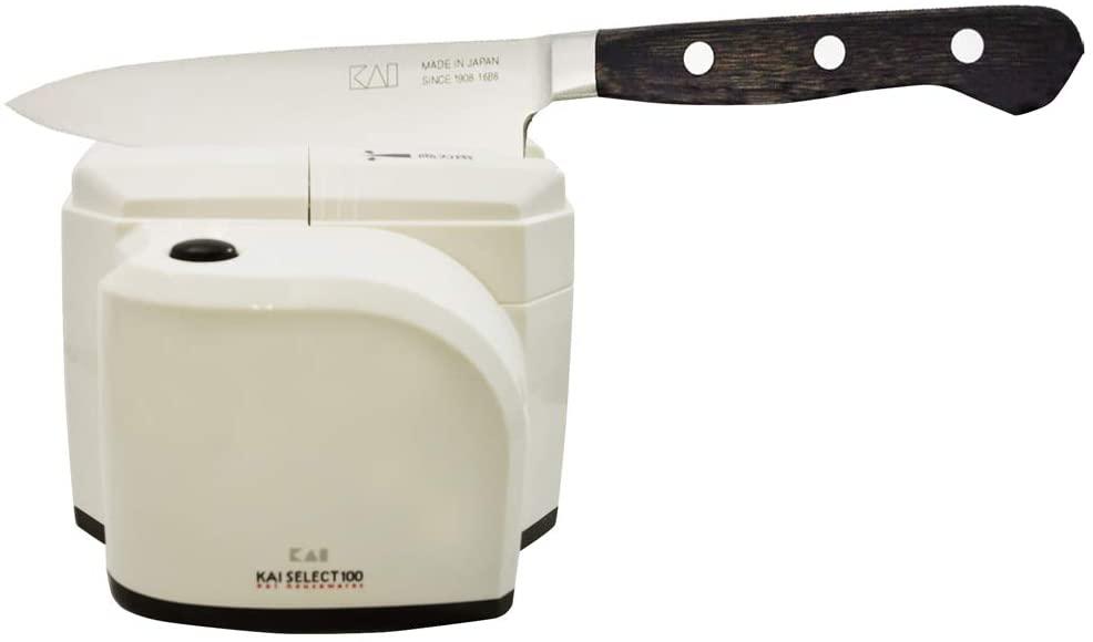 貝印(KAI) シャープナー (包丁研ぎ器) SELECT100 ワンストローク ホワイト AP0133の商品画像7