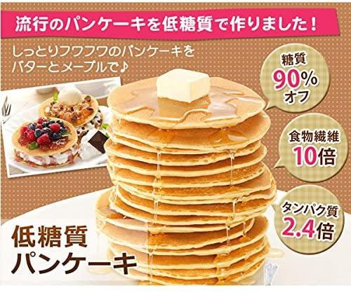 低糖工房 糖質90%オフ 低糖質パンケーキの商品画像4
