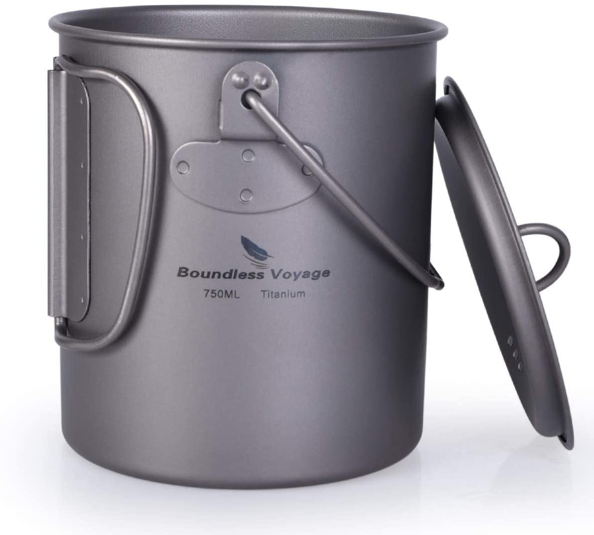 iBasingo(アイバシンゴ) チタンカップ+折り畳み割スプーンセットの商品画像3