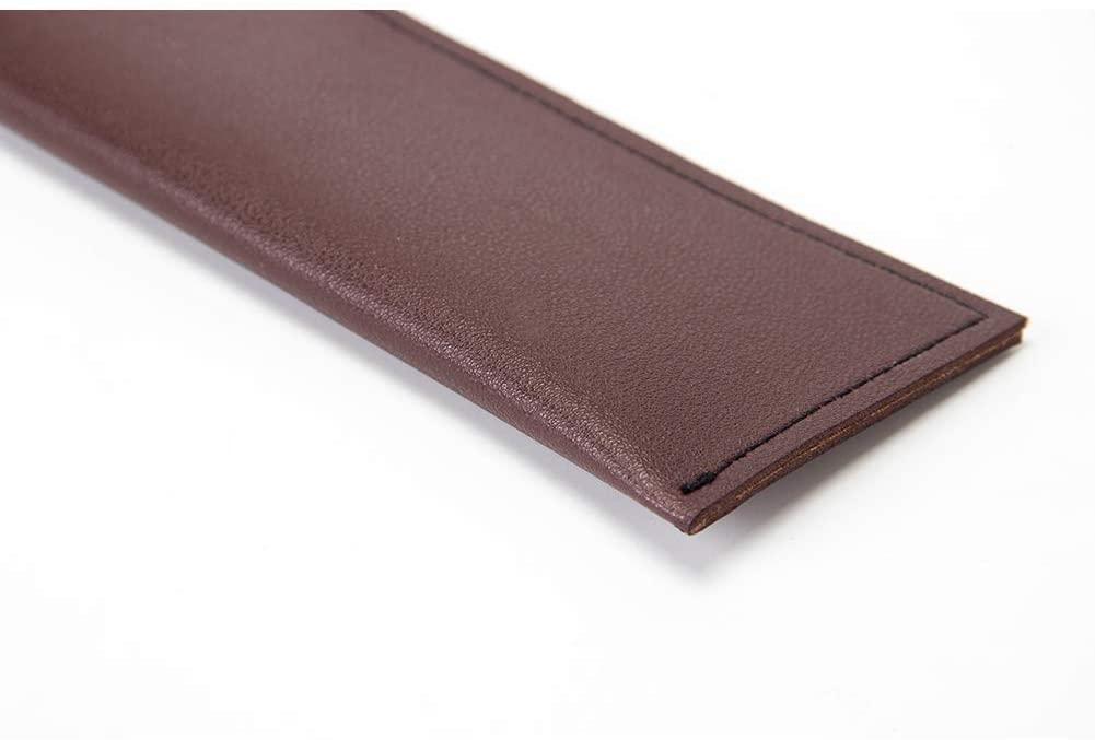 QEES(キューイーズ) 真革包丁ケース 包丁カバー 6セット GJB180 赤の商品画像4