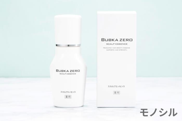 BUBKA ZERO(ブブカゼロ)薬用育毛エッセンスの商品画像