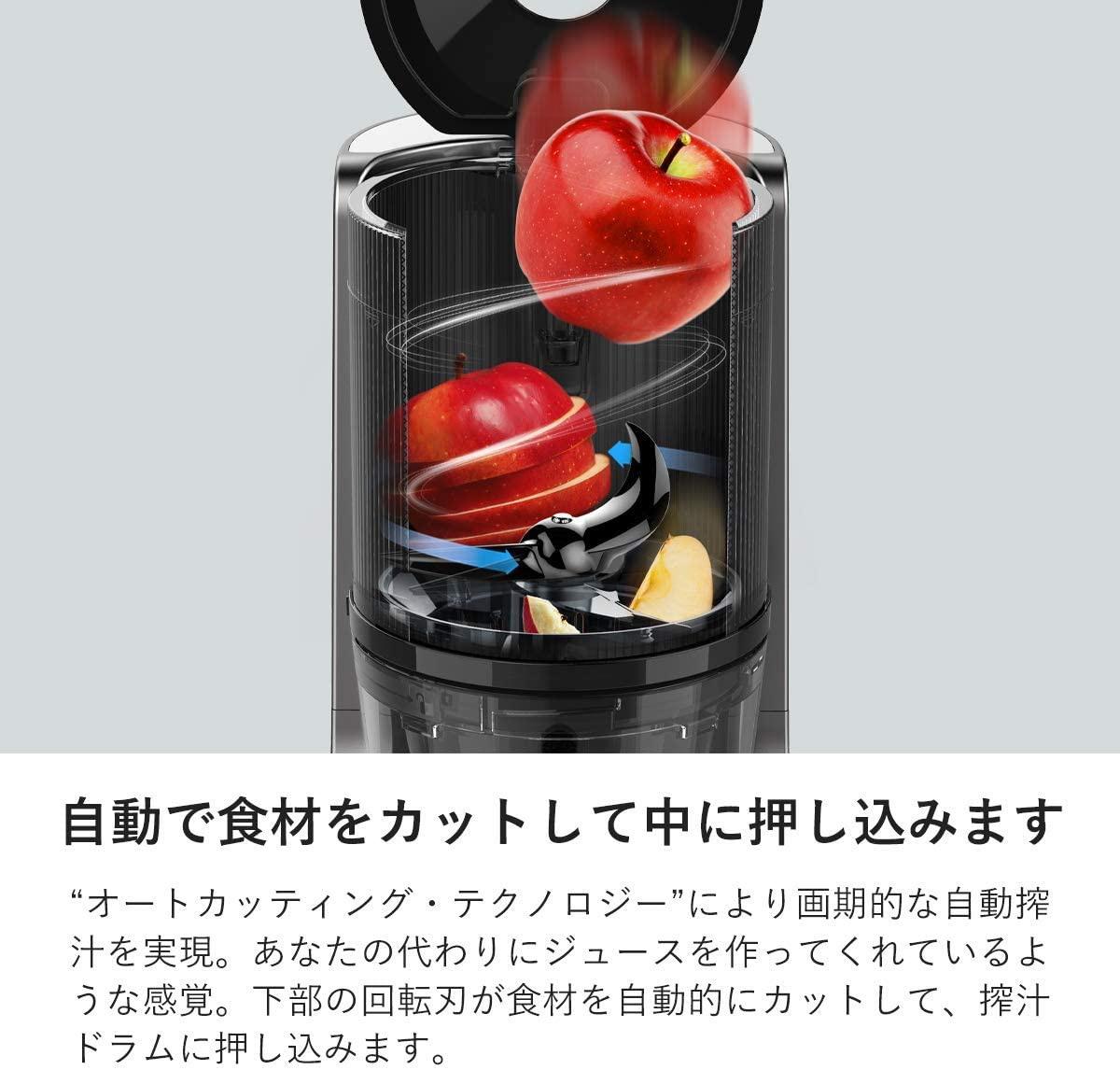 HUROM(ヒューロム) スロージューサー H-200の商品画像5