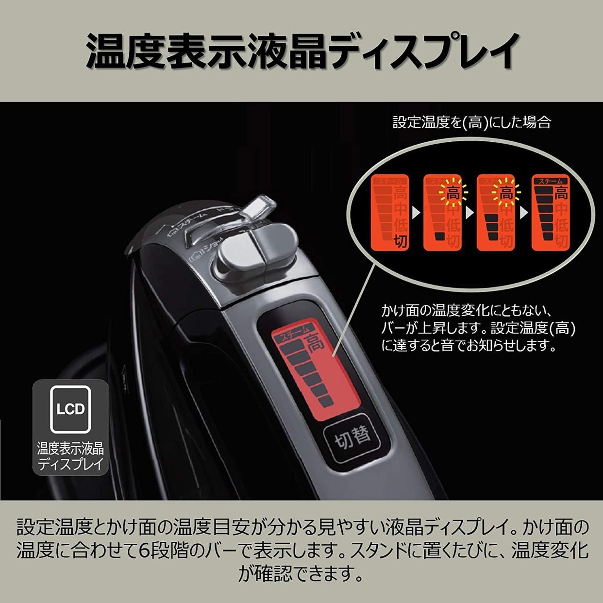 日立(HITACHI) コードレススチームアイロン CSI-307の商品画像2