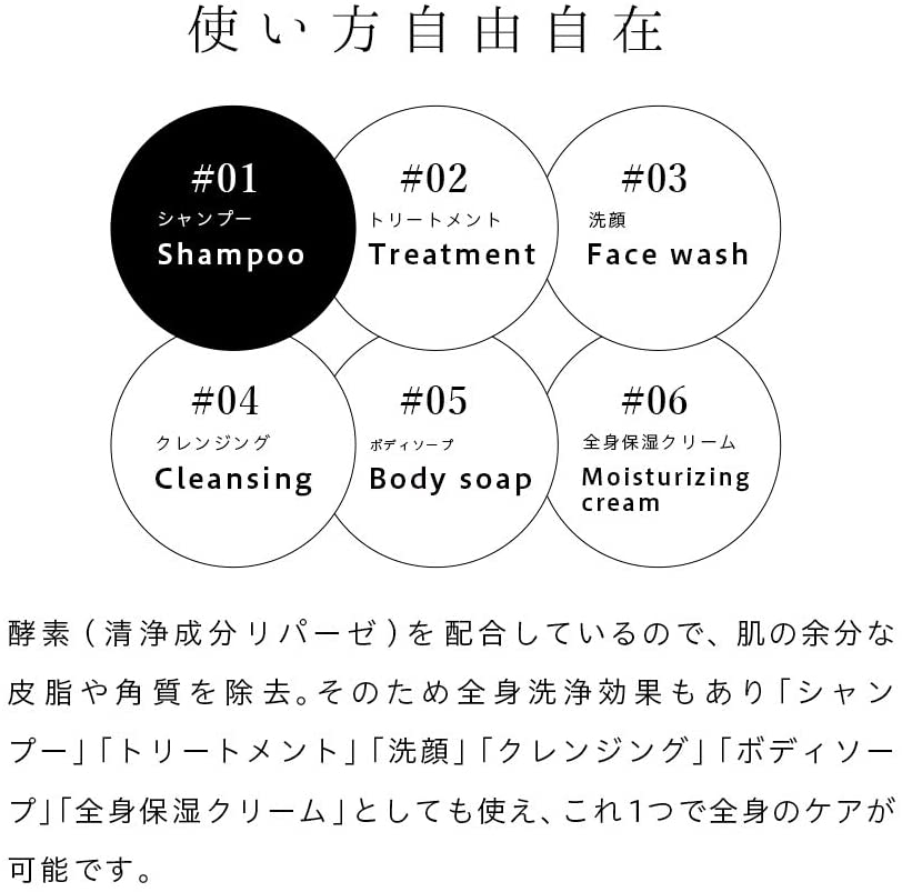 MIMURA(ミムラ) クリームシャンプー トリートメント シックスマジッククリームの商品画像8