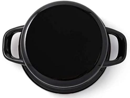 DEAN&DELUCA(ディーンアンドデルーカ) キャセロールL ブラック 18cmの商品画像3