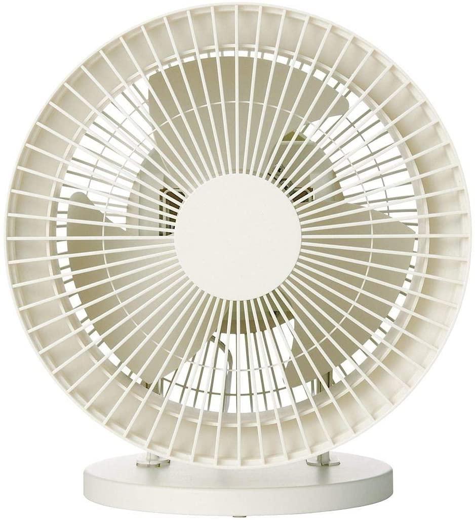 無印良品(MUJI) サーキュレーター(低騒音ファン・大風量タイプ) AT-CF26R-Wの商品画像