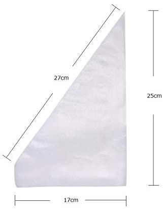 Clip wan(クリップワン) 使いやすいSサイズ 絞り袋 100枚入り クリアの商品画像2