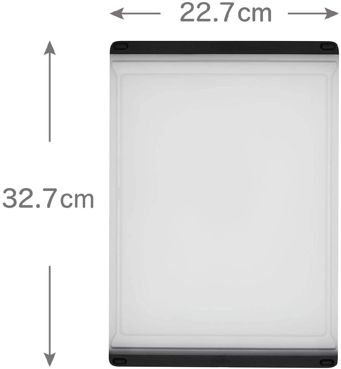 OXO(オクソー)カッティングボードM ホワイト&ブラック 11272700の商品画像3