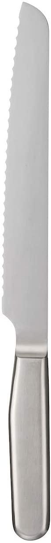 無印良品(MUJI) ステンレス パン切りナイフ 刃渡り約18cm シルバーの商品画像