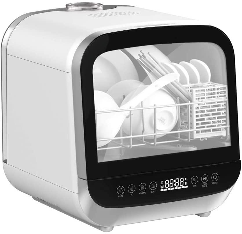 パレット 水道工事がいらない食器洗浄乾燥機 PLDW174WH ホワイトの商品画像