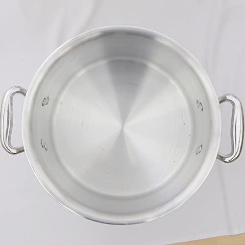 ハイスト アルミ製半寸胴鍋 24cm蓋有 FH82100Fの商品画像2