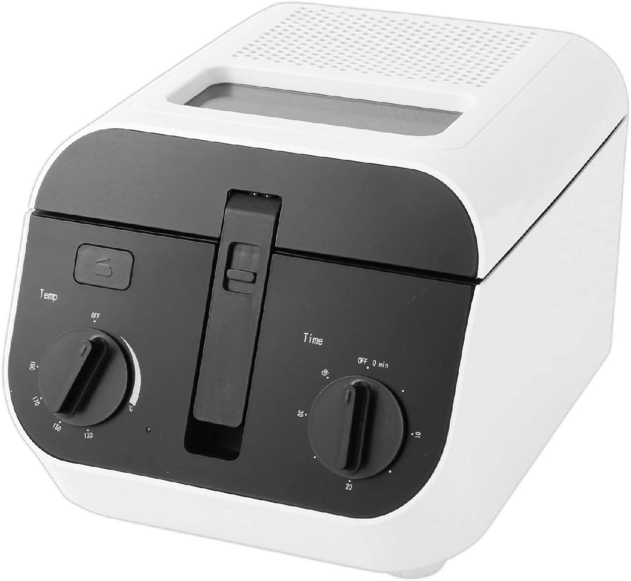 ROOMMATE(ルームメイト) ディープフライヤー EB-RM6400A ホワイトの商品画像