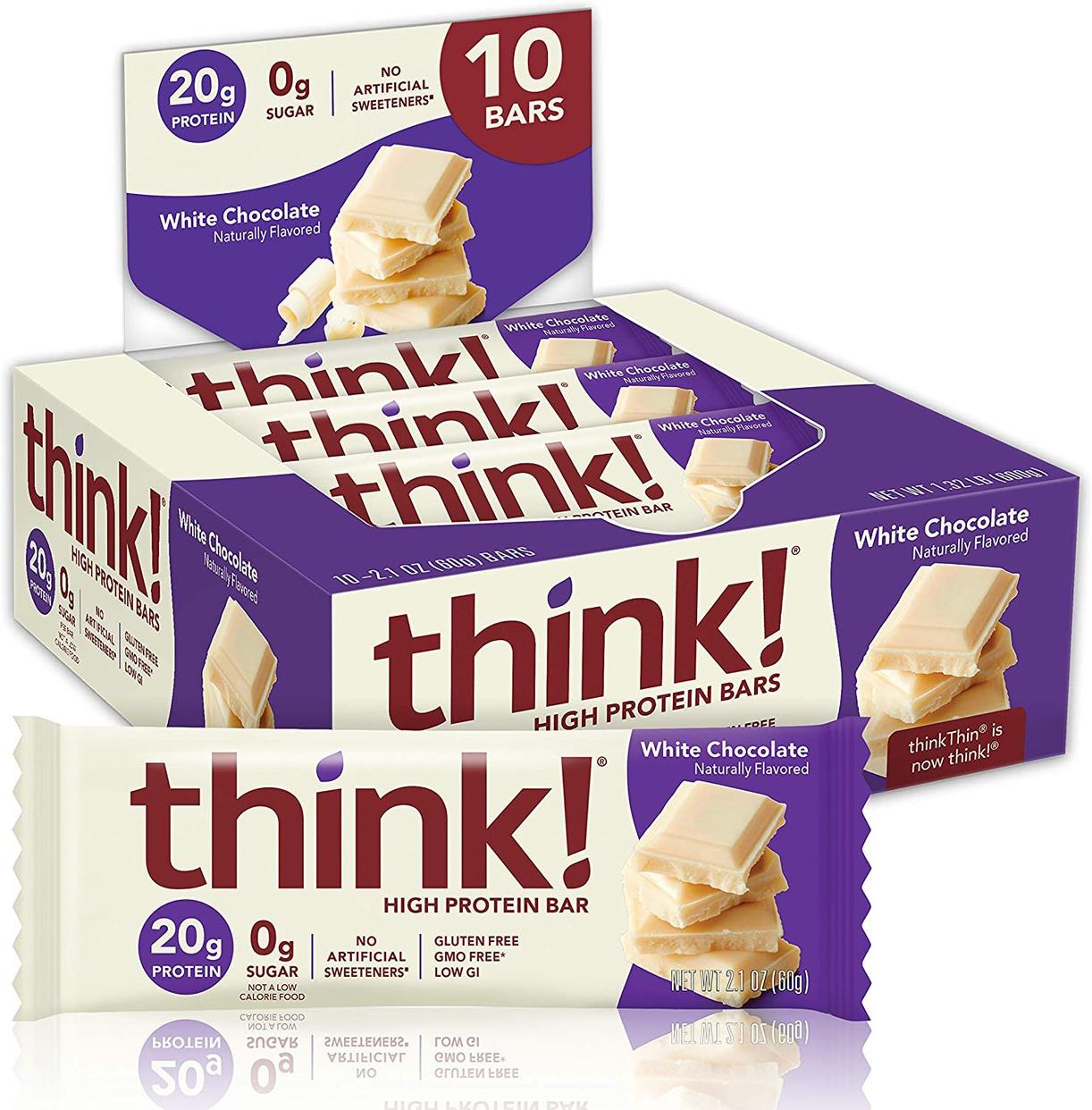 Think Thin(シンクシン) ローカーボダイエットバーの商品画像