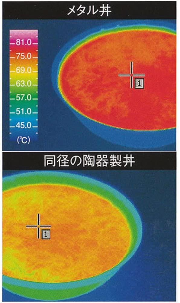メタル丼シリーズ メタル丼 ステンレスつや消し磨き仕様 21cmの商品画像3